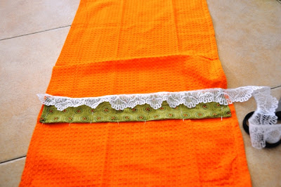 upgrading kitchen towel tutorial