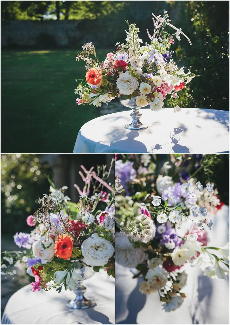 Real Cut Flower Garden arrangement