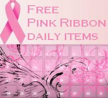 Pink Ribbon Calendar
