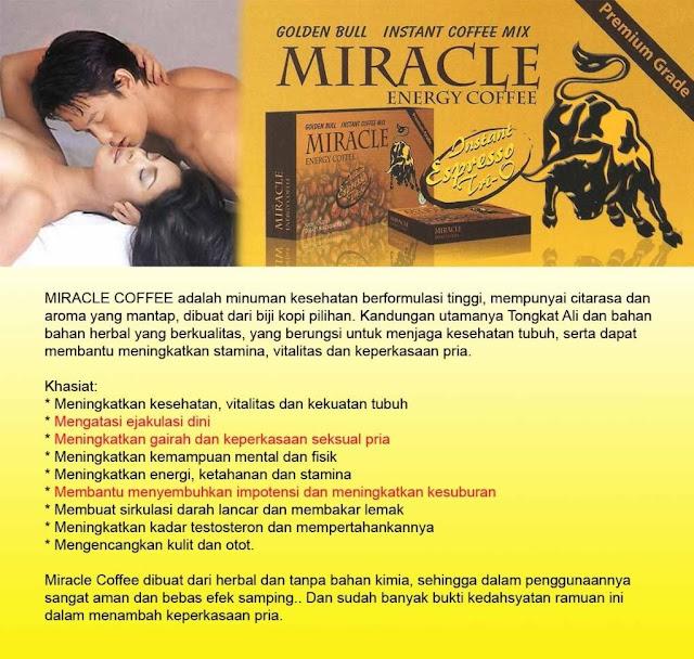 Agen kopi miracle di Jakarta