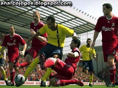 Pes10 gameplay