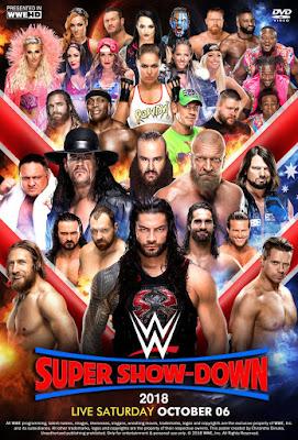 WWE Super Show Down 2018 Custom HD Dual Latino