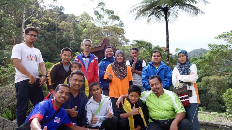 Pendaki dari Raub, Pahang