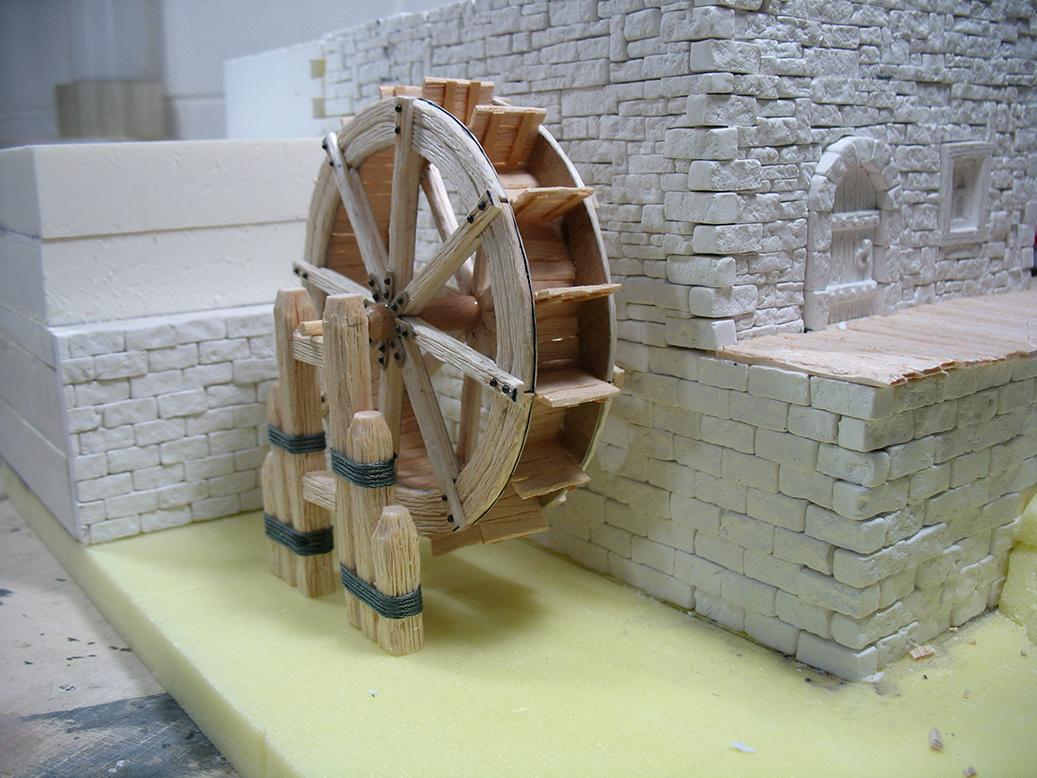 Mistral fantasy world the watermill la ruota - Come costruire una casa in miniatura ...