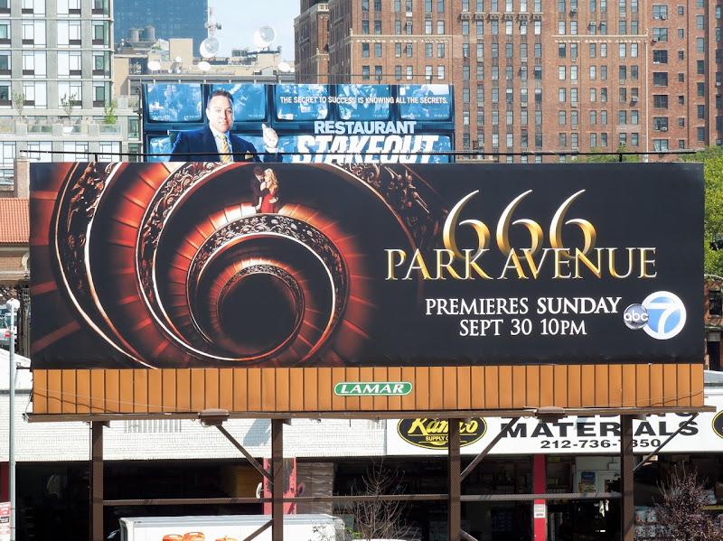 666 Park Avenue TV billboard