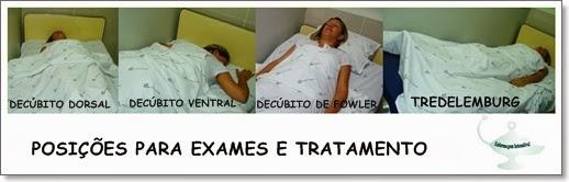 Posicoes de exames