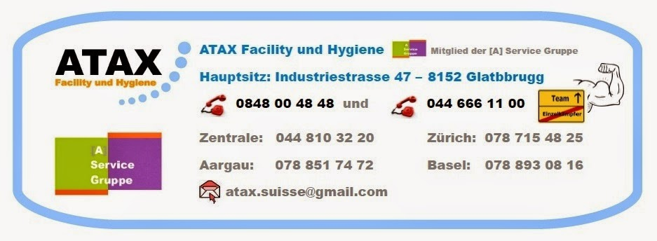 ATAX Facility und Hygiene