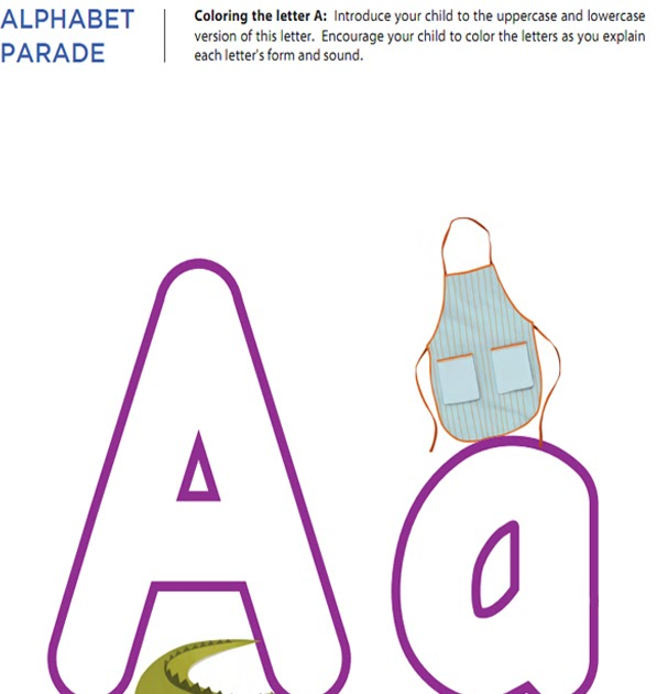 Mother Dream: worksheets Alphabet Letter A