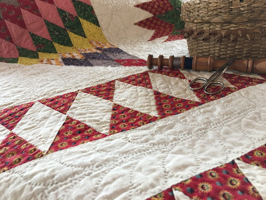 Family Bethlehem Star quilt