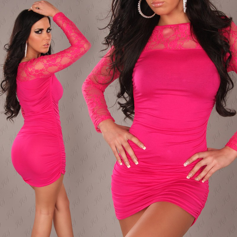 Short Pink Club Dress