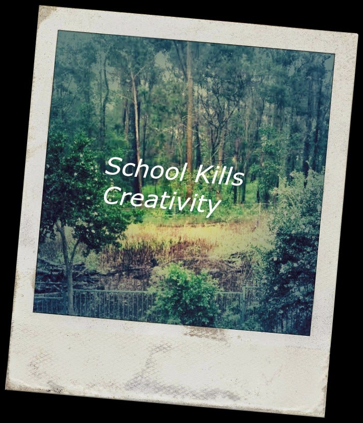 school kills creativity After the event, the talks were packaged in a box set of dvds and sent just to the attendees i gave a talk called do schools kill creativity.