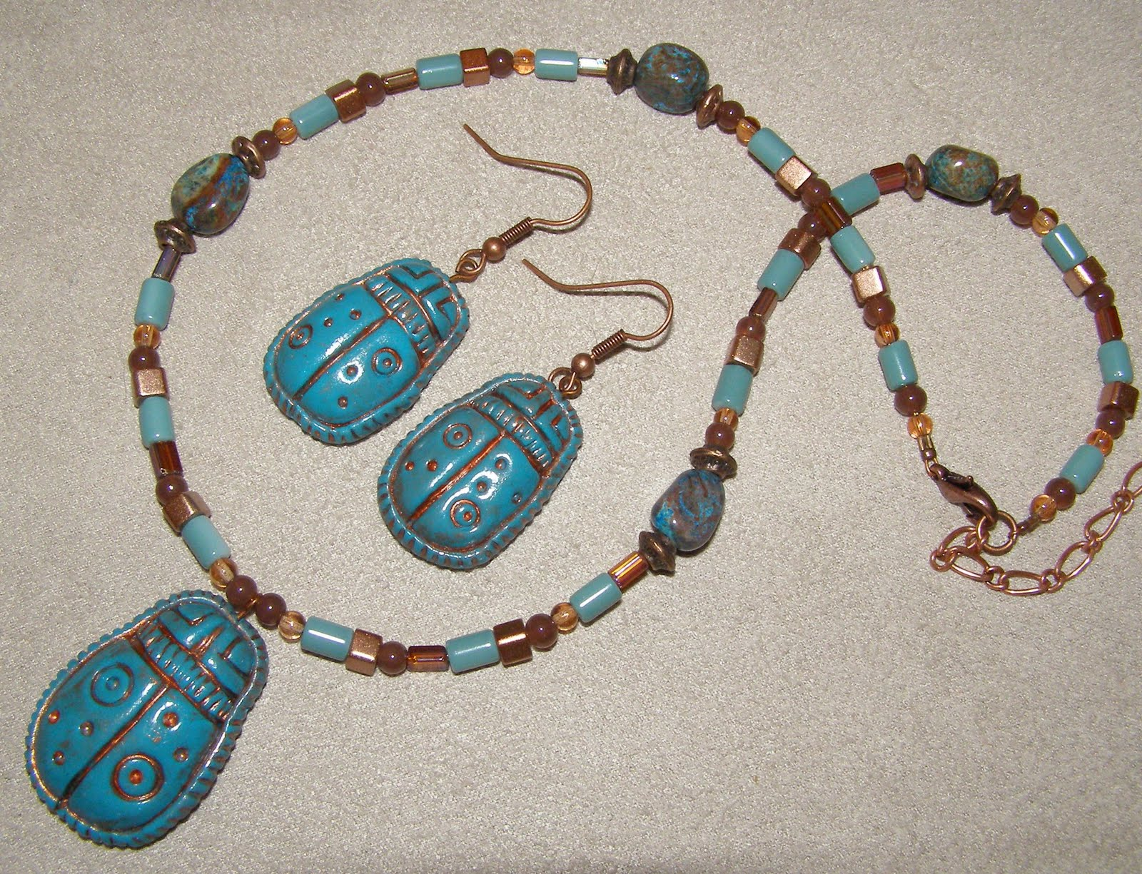 Into the Dawn: Scarab Beetle Jewelry