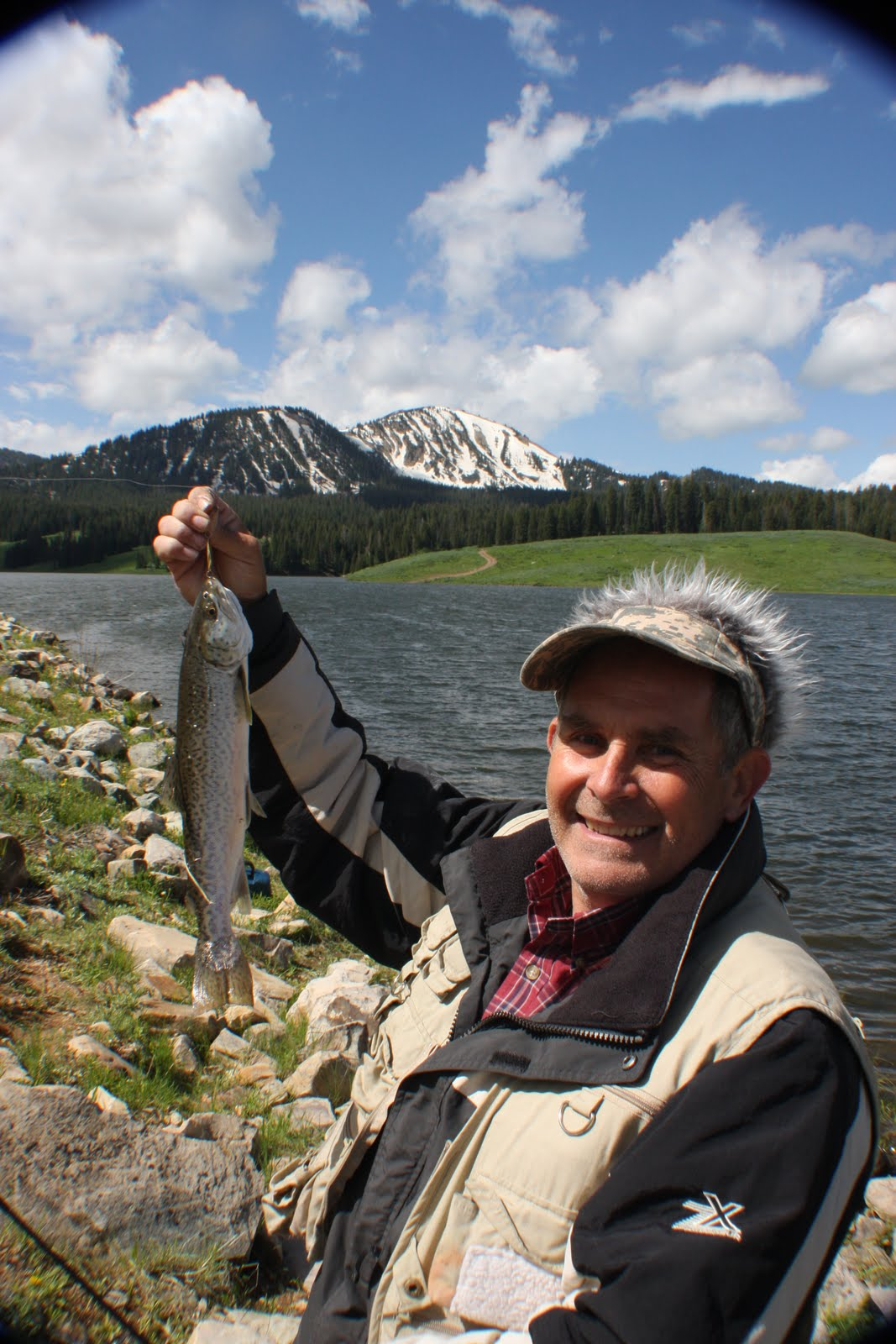 Rich ideas fishing at whitney lake in the uinta mountains for Lake whitney fishing