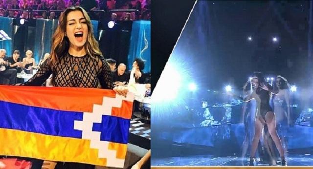 Σάλο προκάλεσε η Αρμενία στην Eurovision – Την απειλούν με κυρώσεις γιατί έκανε το αυτονόητο! (vid)