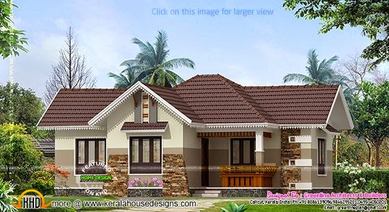 Nice single floor house