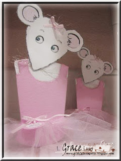Angelina Ballerina – Party Invitations
