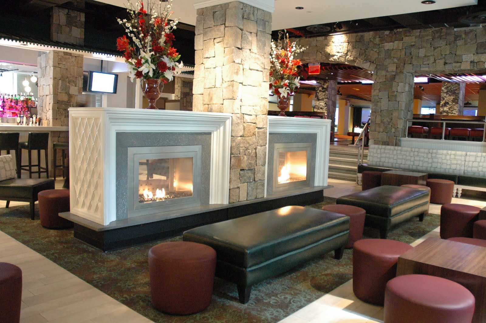 Best fireplace design ideas ventless gel fuel fireplaces for Luxury fireplace designs