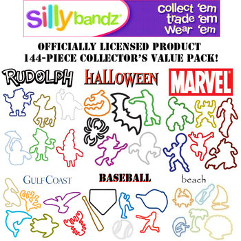 Silly Bandz 144 Pack for $4.99 + $1.99 Shipping Exp 4/17 ...
