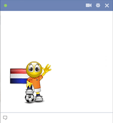 Dutch football smiley