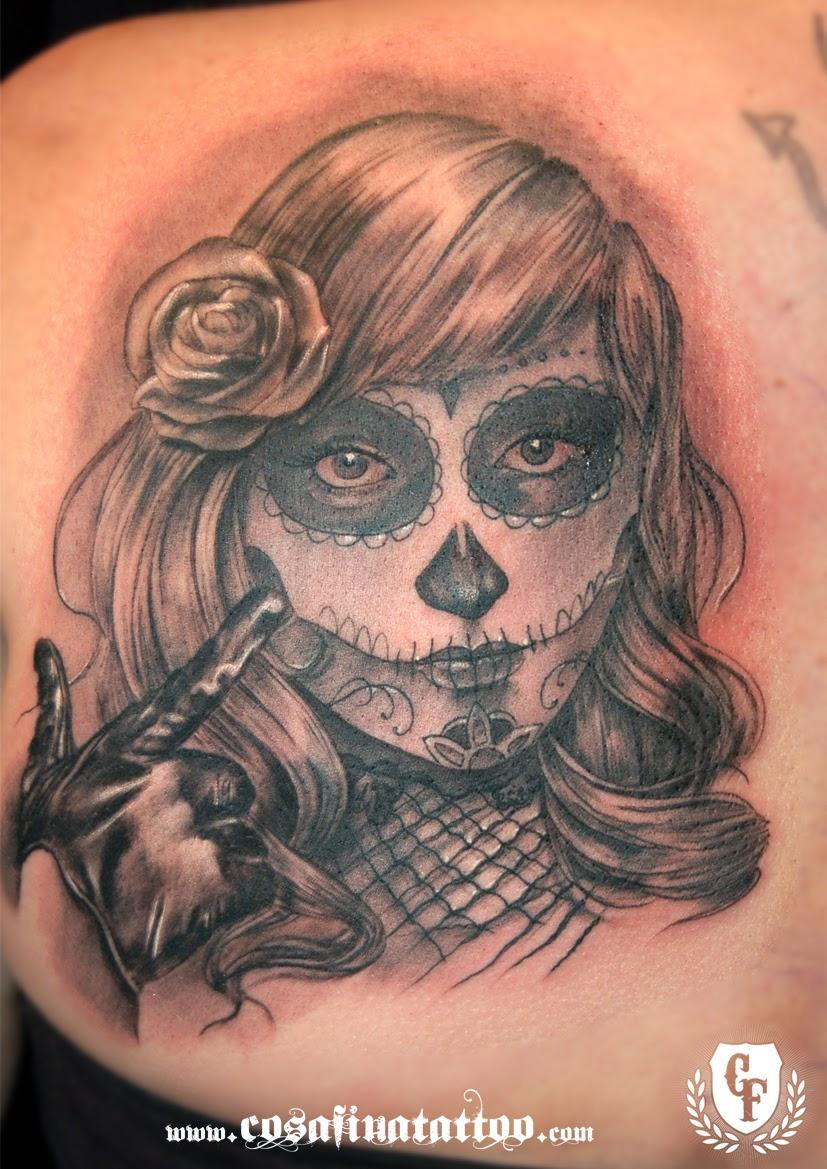 mujer y muerte: