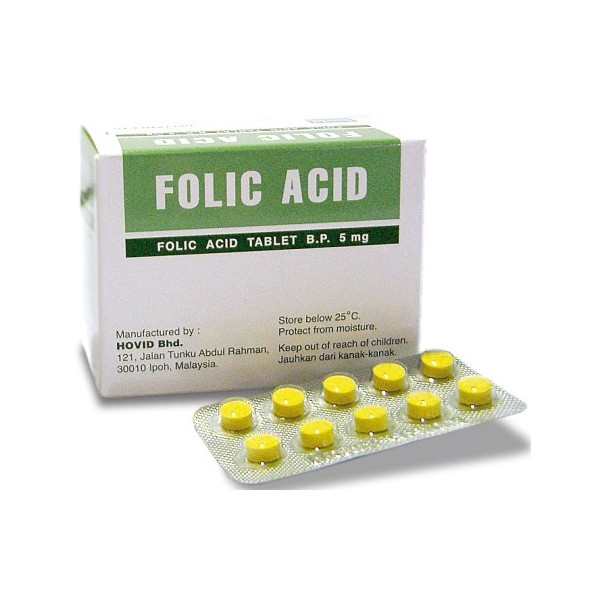 1mg folic acid pregnant