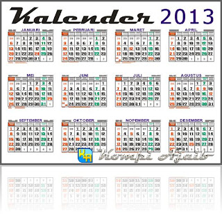 Logo Template Kalender 2013