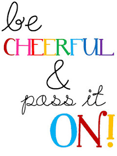 photo of Be Cheerful poster