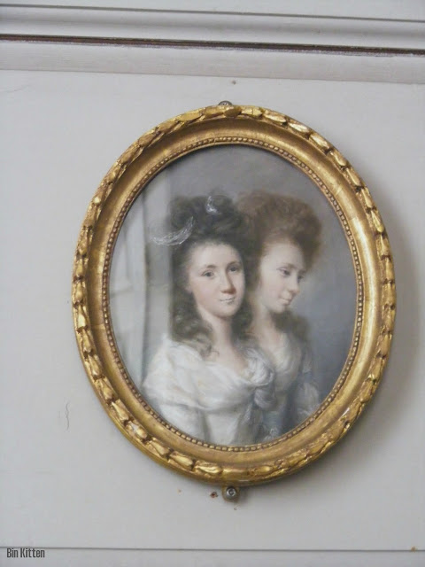 conjoined twins or ghost portrait, Castletown House Kidare
