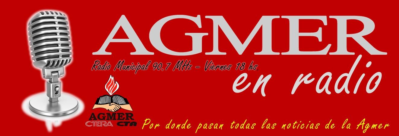 AGMER EN RADIO - Radio Municipal 90.7 Mhz.