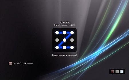 XUS PC Lock for Locking your Windows Screen