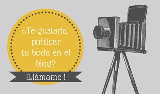 ¿Tu boda en el Blog?