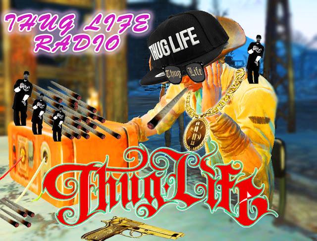 thug life mod fallout 4 rap gangster