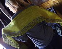 Cadenza shawl