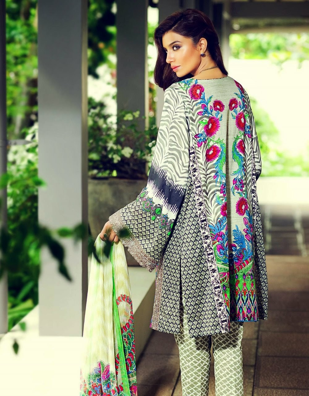 Latest Elan lawn collection 2015