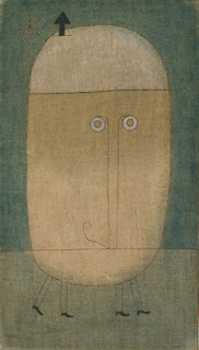 Paul Klee painting - Mask of Fear