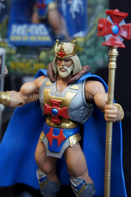 Mattel Matty Collector 2013 Toy Fair Display - Masters of the Universe MOTU Classics King He-Man figure