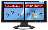 Computer's system restore to an earlier time in windows 7 or 8