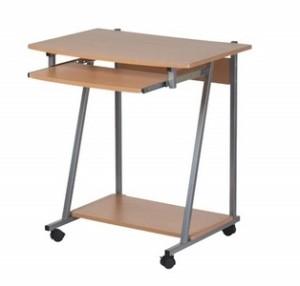 Table ordinateur metoui meubles 98 237 974 - Bureau avec tablette pour clavier ...