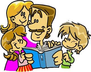 Dibujo de la familia (Padre e hijos)