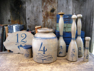 my latest faux stoneware