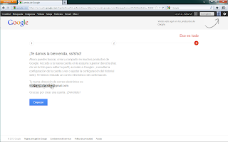 Crear cuenta Gmail - paso 3
