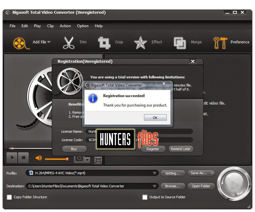 Bigasoft total video converter v2.1.0.3777h33tnextg