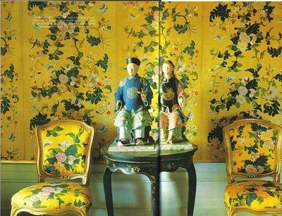 Chinoiserie Chic Yellow And