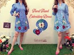 ZR106 Floral Flanel Dress SOLD OUT