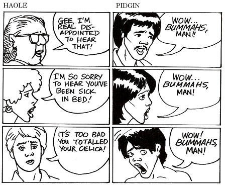 Pidgin Language Example