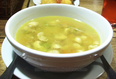 embrodo soup at Cesar Montano's Bellissimo Ristorante