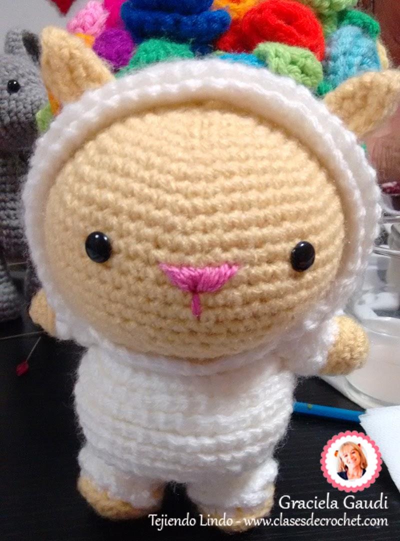 amigurumi crochet gatito