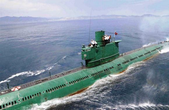 Kapal selam Korea Utara