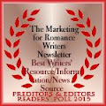 Preditors & Editors 2015 Reader's Poll Best Writers' Resource