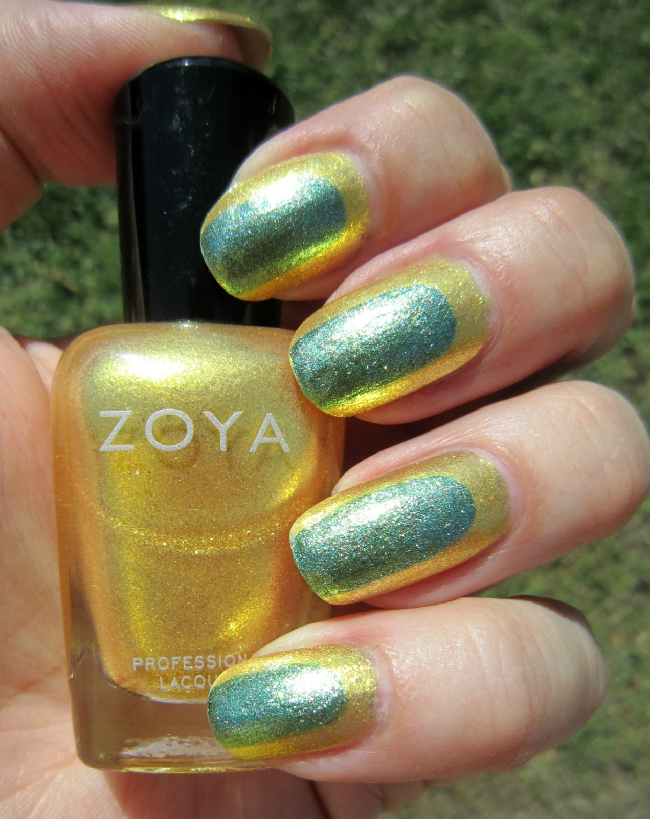 Concrete and nail polish lemon lime ruffian nails with zoya kerry lemon lime ruffian nails with zoya kerry zoya rikki prinsesfo Images